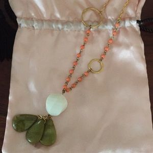 Anthropologie long necklace.